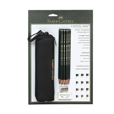 Faber Castell 9000 Artist Graphite Drawing Set