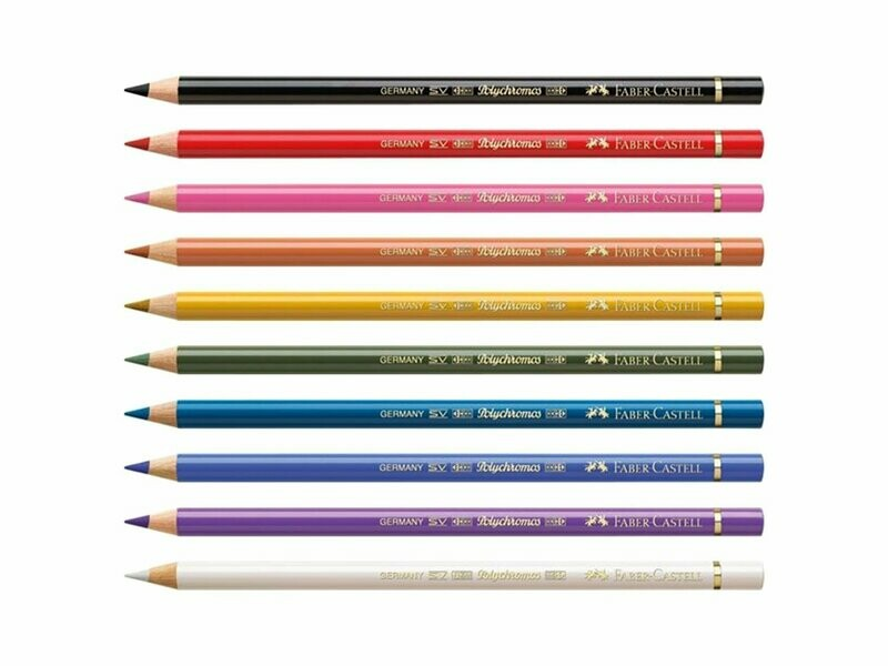 Faber Castell Polychromos Colored Pencils