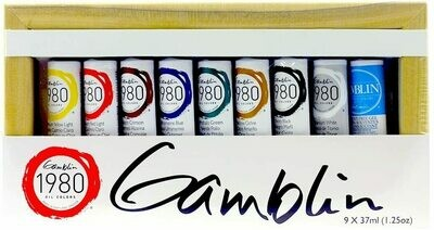 Gamblin 1980 Oil Color Introductory Set