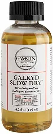 Galkyd Slow Dry Oil Medium