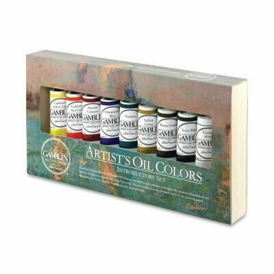 Gamblin Artist's Oil Colors Introductory Set