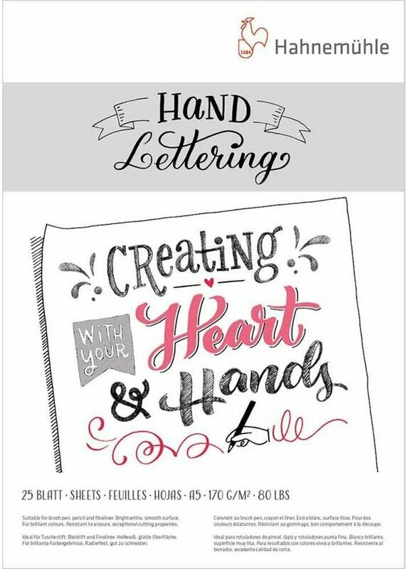 Hahnemuhle Hand Lettering Paper