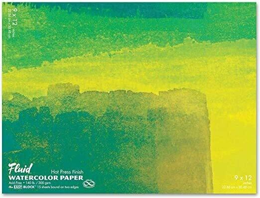 Fluid Watercolor Block
