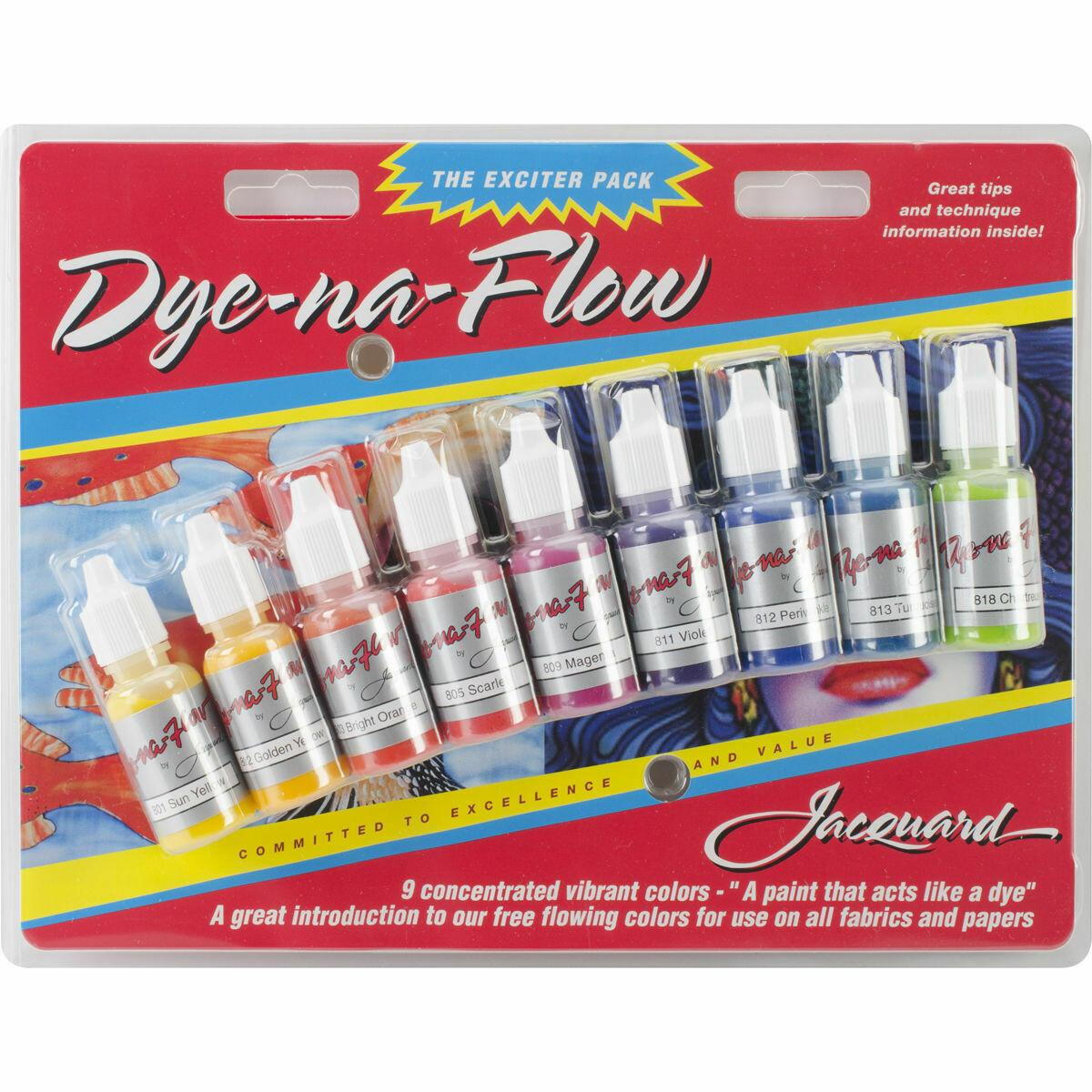 Jacquard Dye-na-Flow Exciter Pack