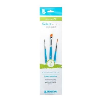 Princeton Select Brush Value Sets
