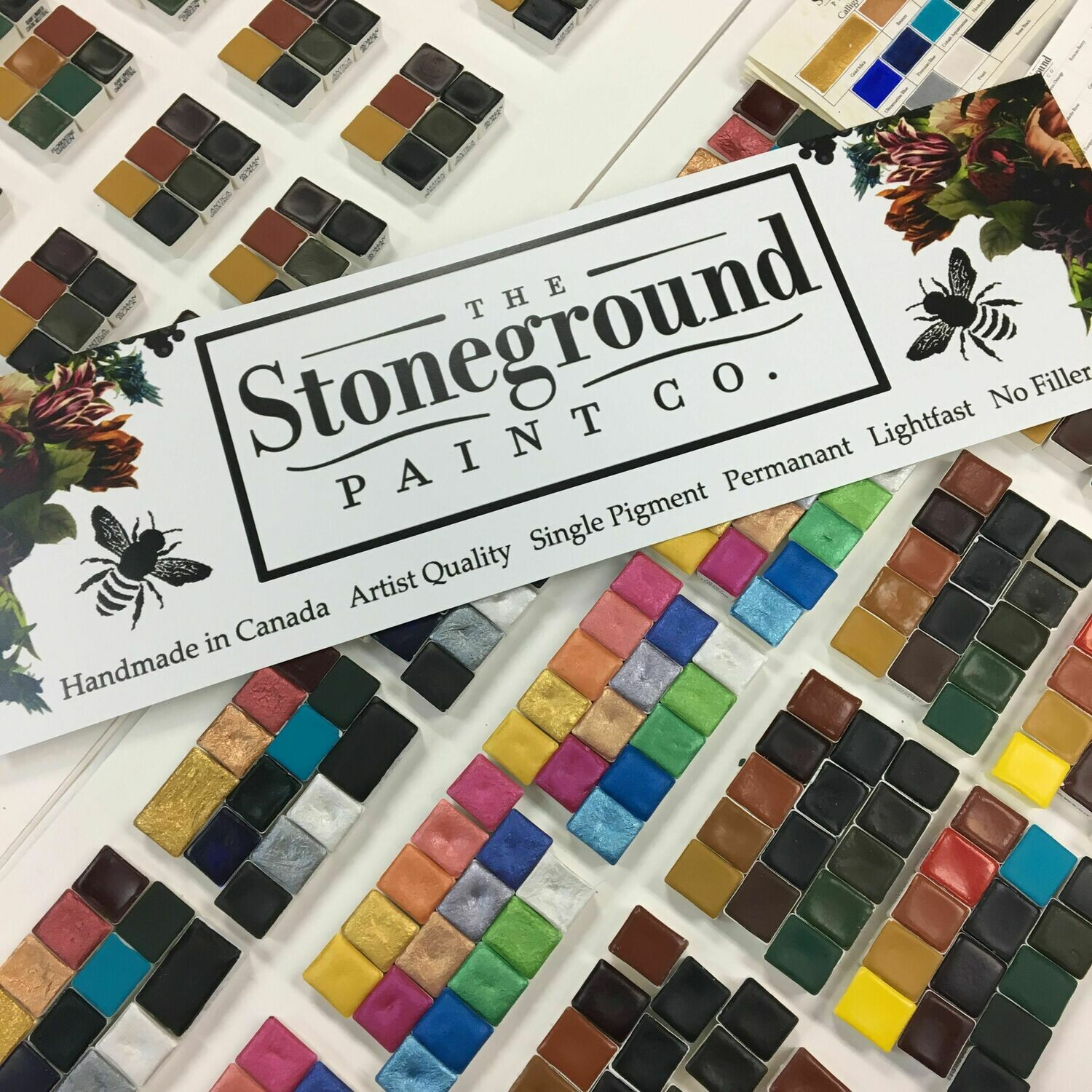 Stoneground Watercolor Individual Pans