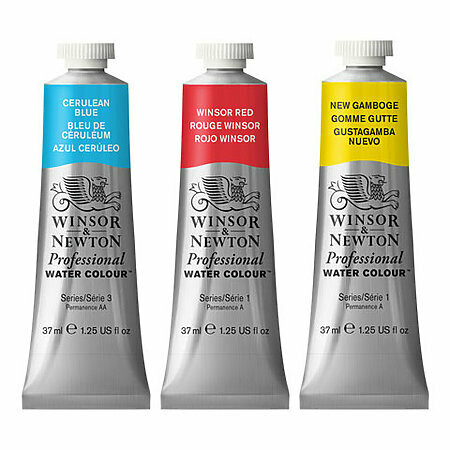 14mL Winsor Newton Watercolors