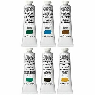 37mL Winsor Newton Oil Colors