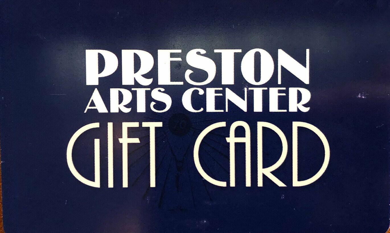 Preston's Gift Card