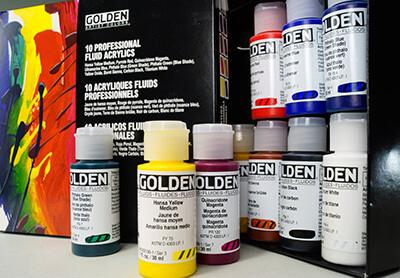 1oz Golden Fluid Acrylic
