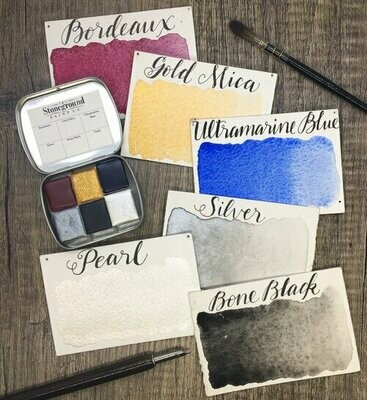 Stoneground Small Calligraphy Palette
