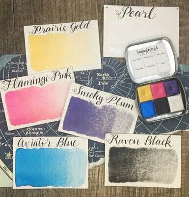 Stoneground Small Pearlescent Galaxy Palette