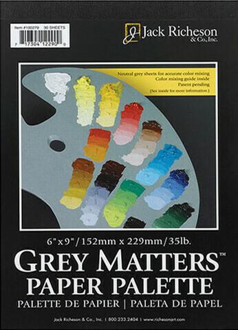 Grey Matters Paper Palette Pad