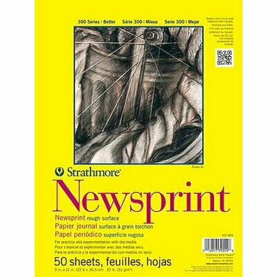 Strathmore 400 Series Newsprint