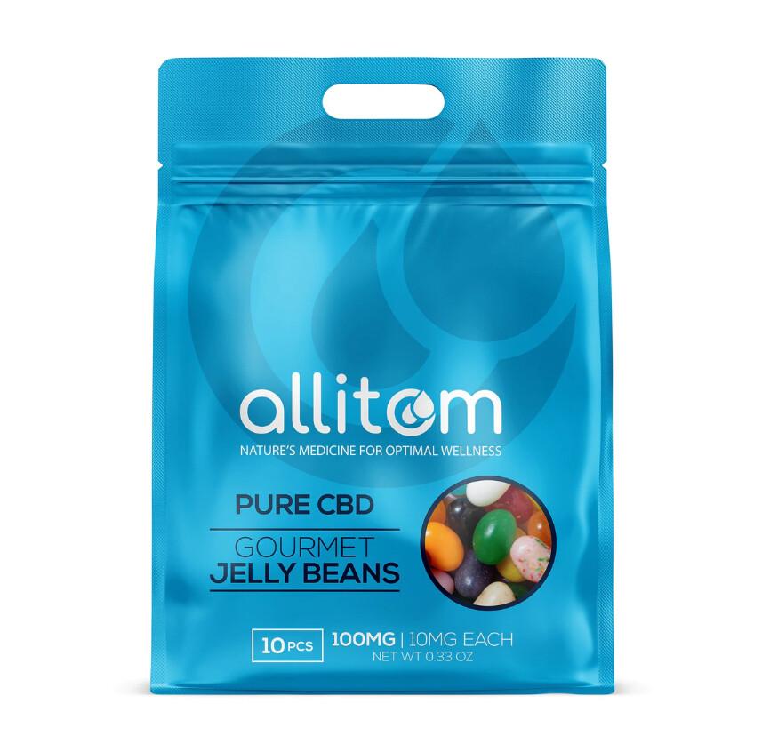 Allitom Gourmet CBD Jelly Beans