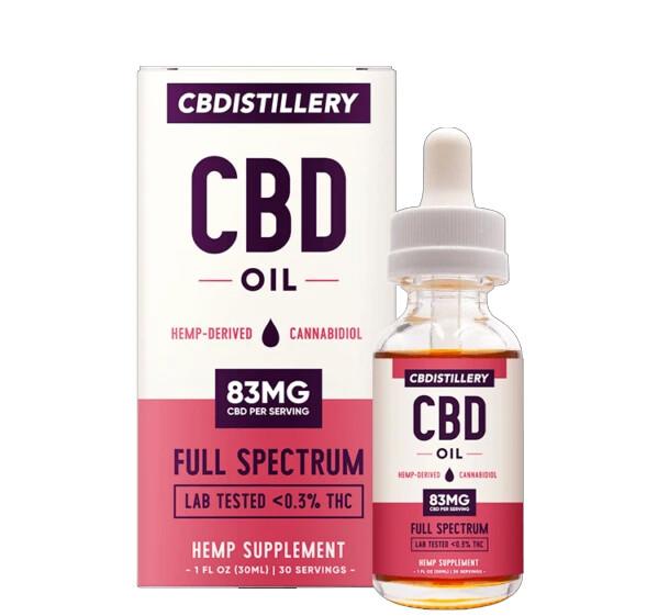 CBDistillery - Full Spectrum CBD Tincture 30ml 2500mg