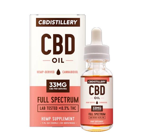 CBDistillery - Full Spectrum CBD Tincture 30ml 1000mg