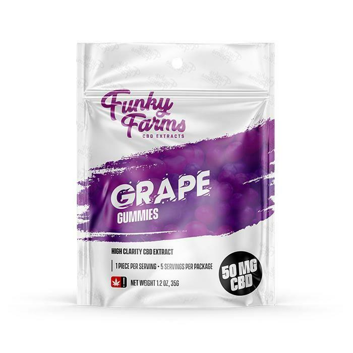 FF - Grape CBD Gummies