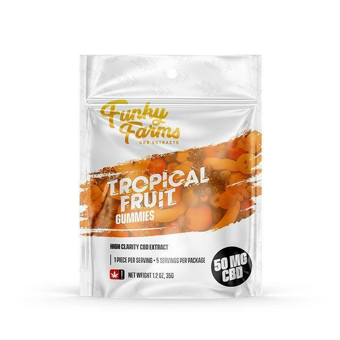 FF - Tropical Fruit CBD Gummies