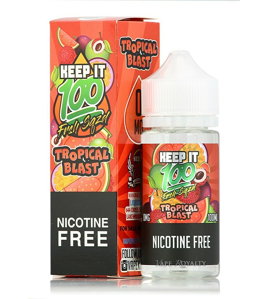 Keep It 100 - Tropical Blast 100ml