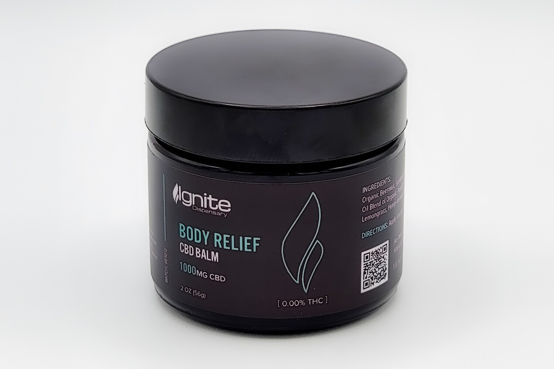 Element - CBD Balm - Body Relief 2oz 1000mg