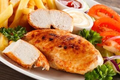 Grilled Chicken Breast Platter