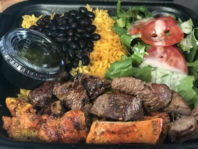 Steak and Chicken Platter