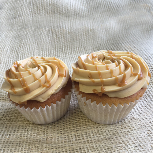 Salted Caramel Cupcakes (2 pack) - Limited stock!
