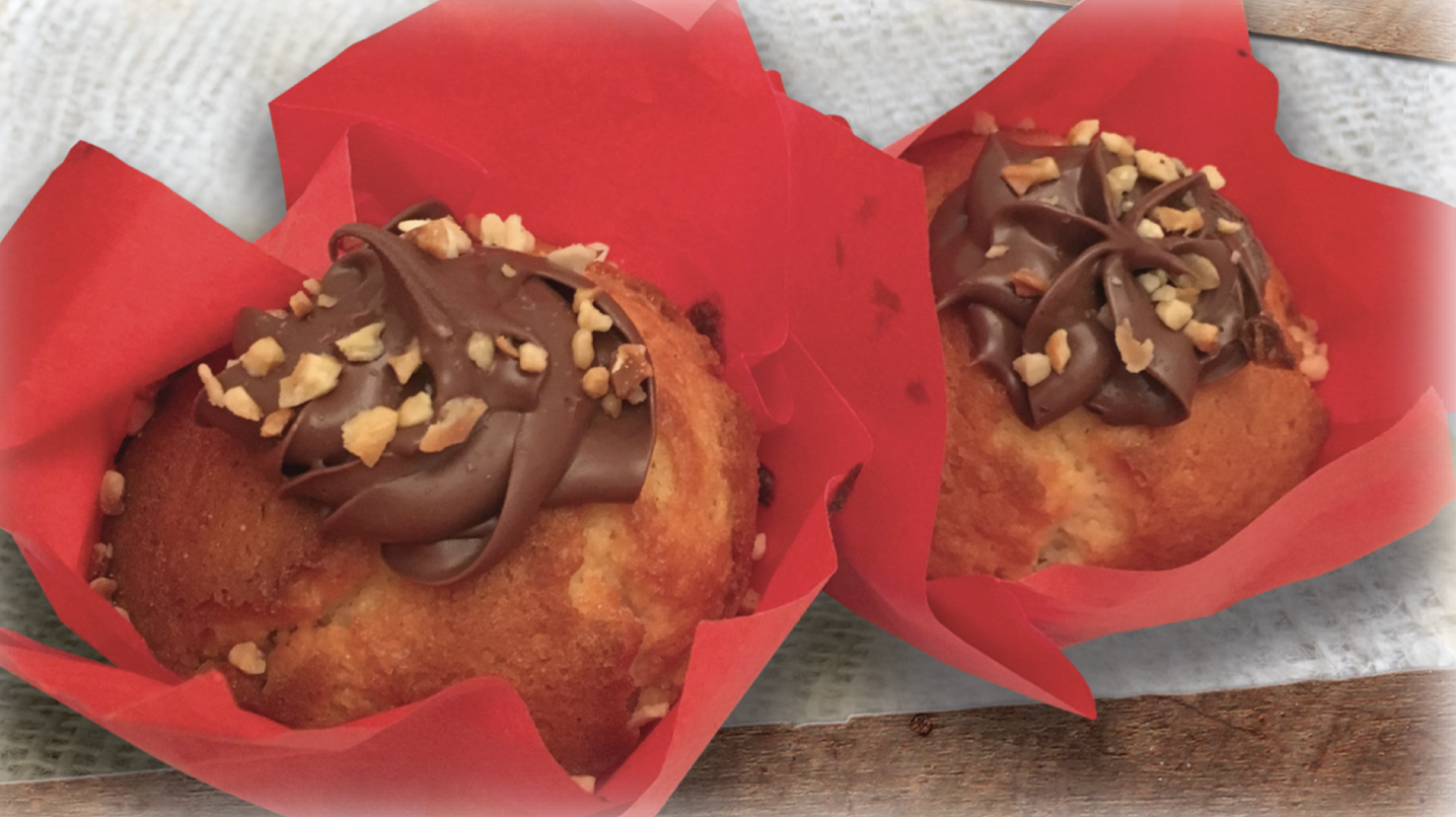 Nutella Muffin (2 pack) - Limited Stock!