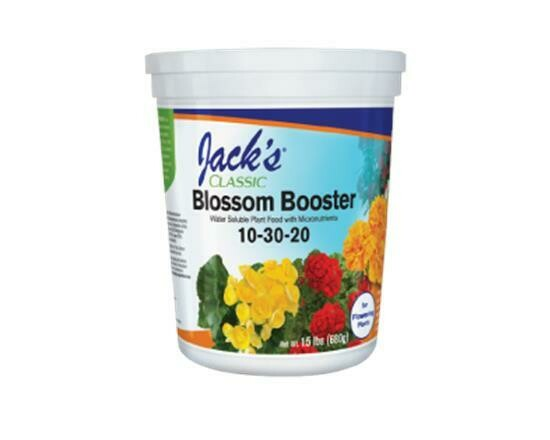 Blossom Booster 10-30-20