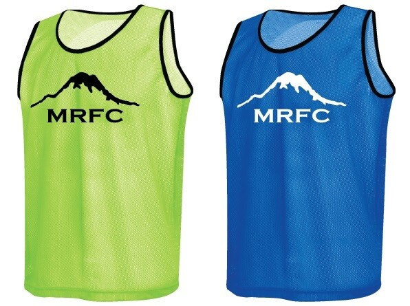MRFC 2020 Scrimmage Vest Set (bright green & royal blue)