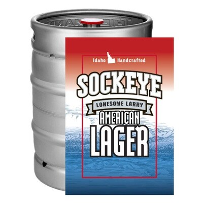 Lonesome Larry Lager | 50L Keg-to-Go