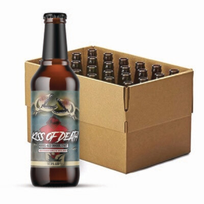 Kiss of Death Imperial Stout Case |  12 x 355ml Bottles
