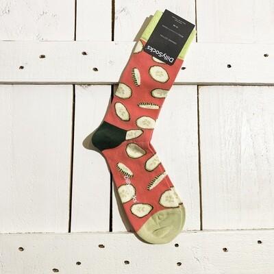 Dilly Socks – Cucumber Fire