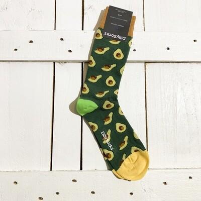 Dilly Socks – Avocado Grass
