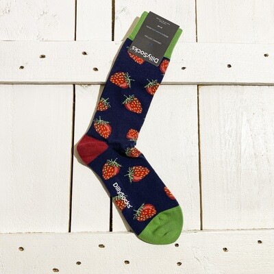 Dilly Socks – Strawberry Sky
