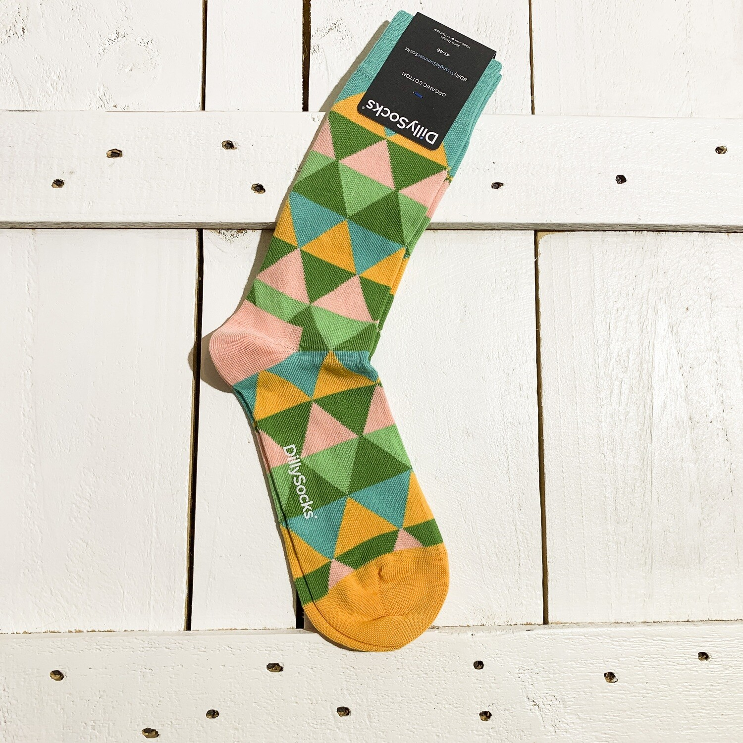 Dilly Socks – Triangle Summer