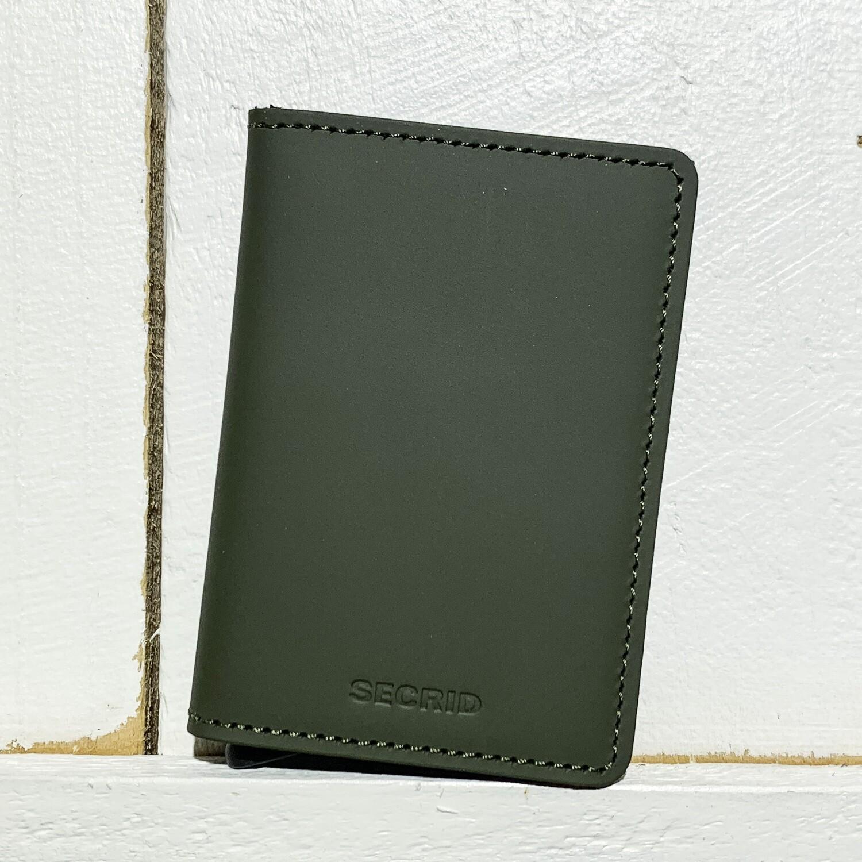 SECRID –  Slimwallet Matte Green Black