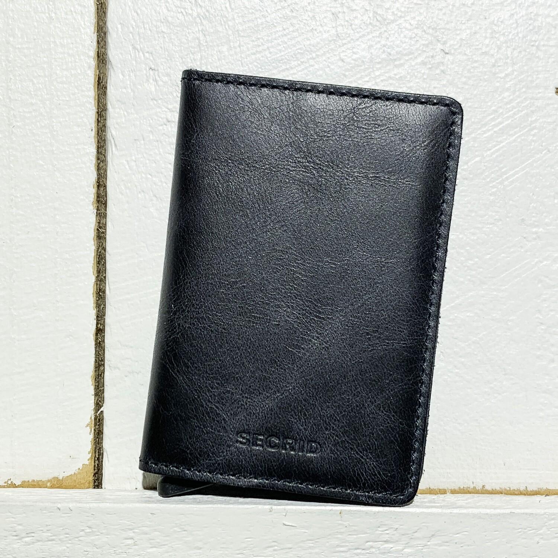 SECRID –  Slimwallet Vintage Black