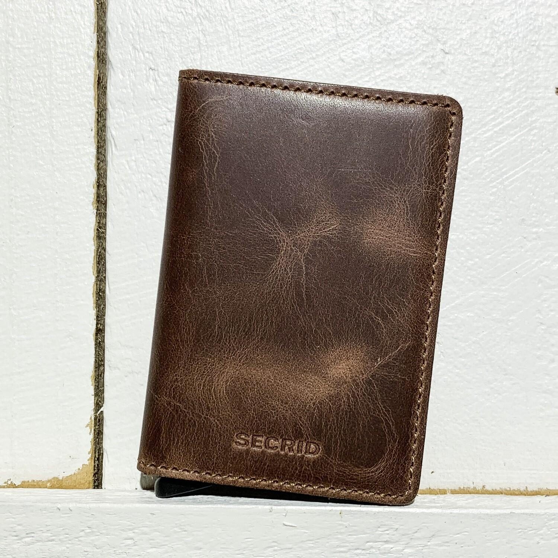 SECRID –  Slimwallet Vintage Brown