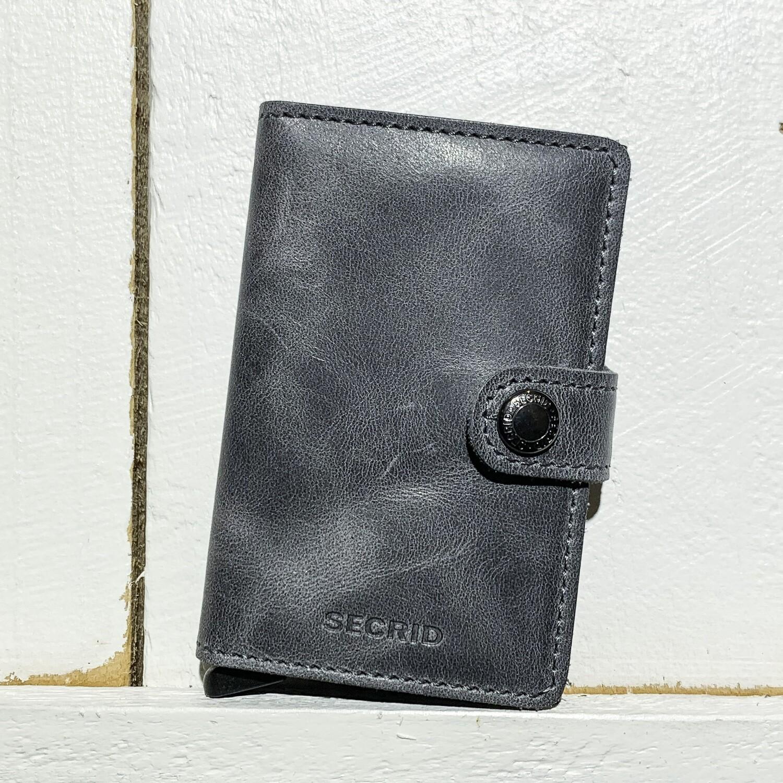 SECRID –  Miniwallet Vintage Grey