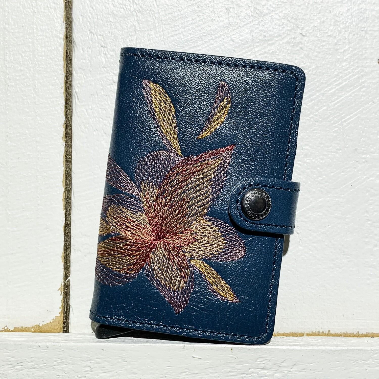 SECRID –  Miniwallet Stitch Magnolia