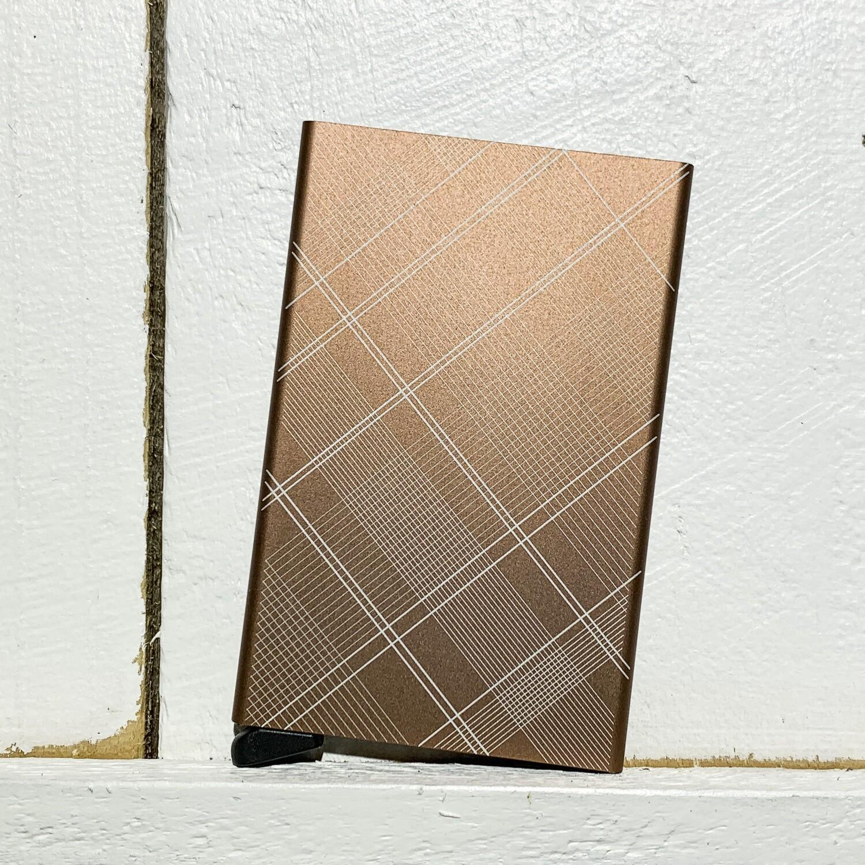 SECRID – Cardprotector Tartan Rust