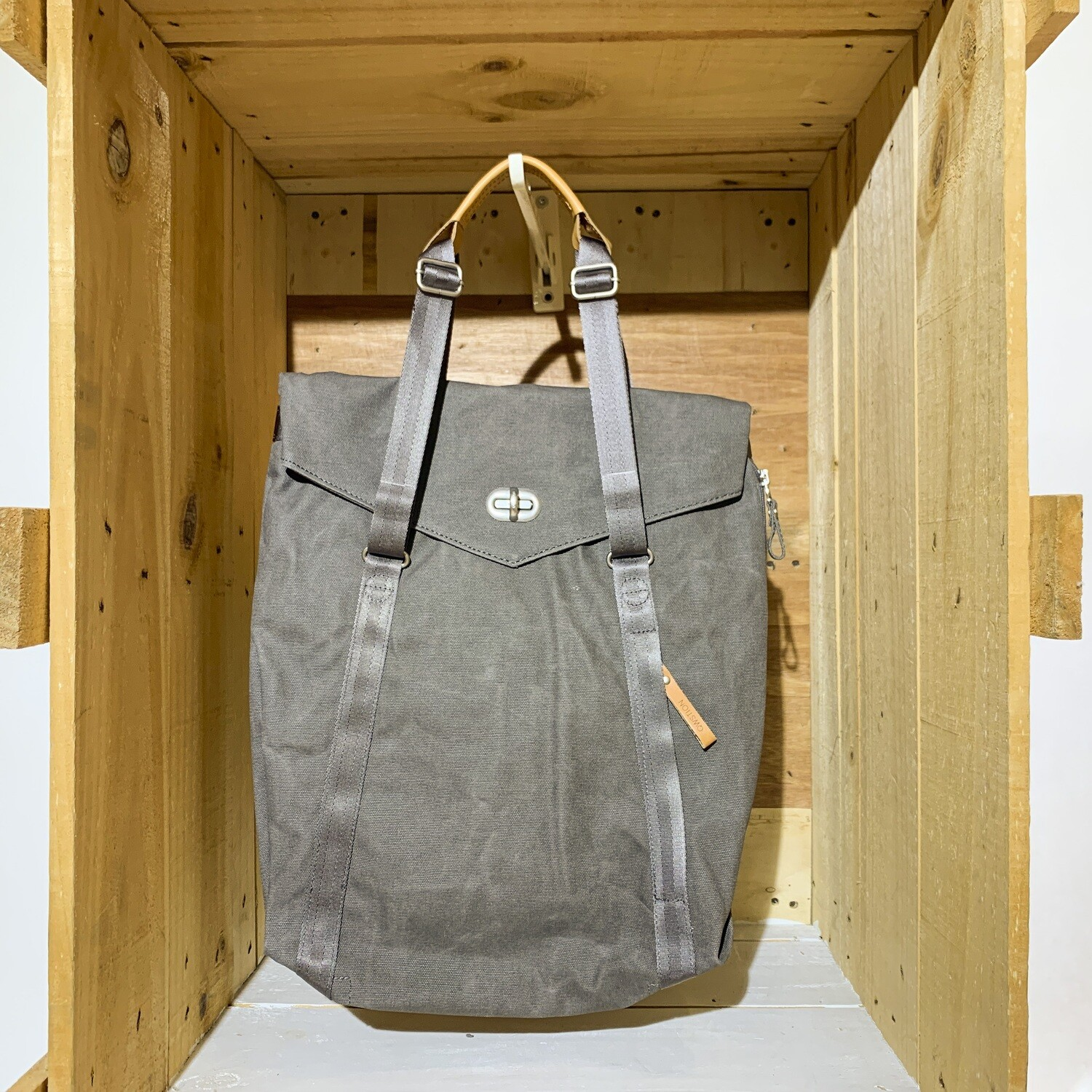 QWSTION – Tote Organic Washed Grey