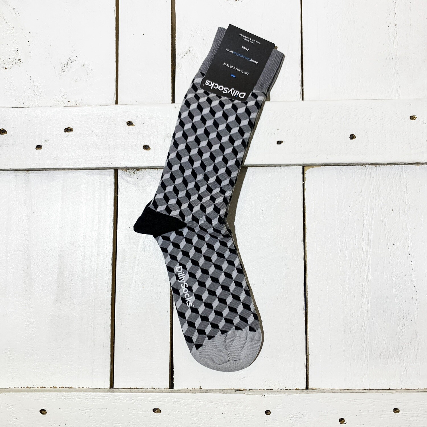Dilly Socks – Concrete Dice