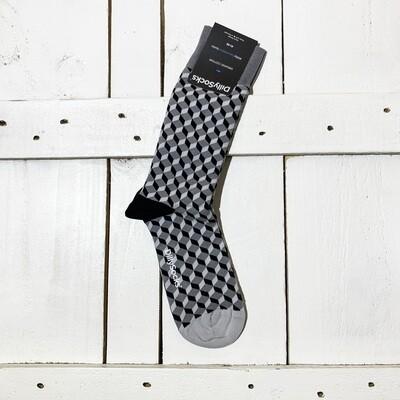 Dilly Socks – Concrete Dice