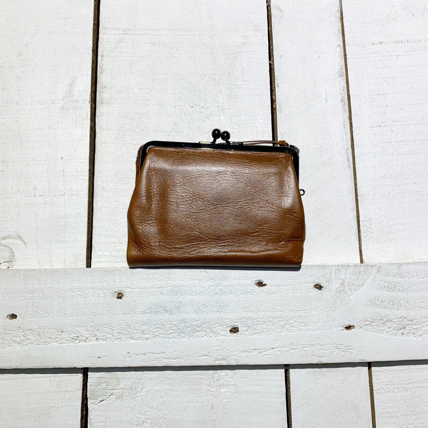 Baggy Port – Try Fold Purse Brown
