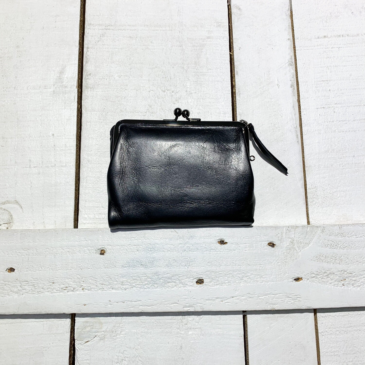 Baggy Port – Try Fold Purse Black
