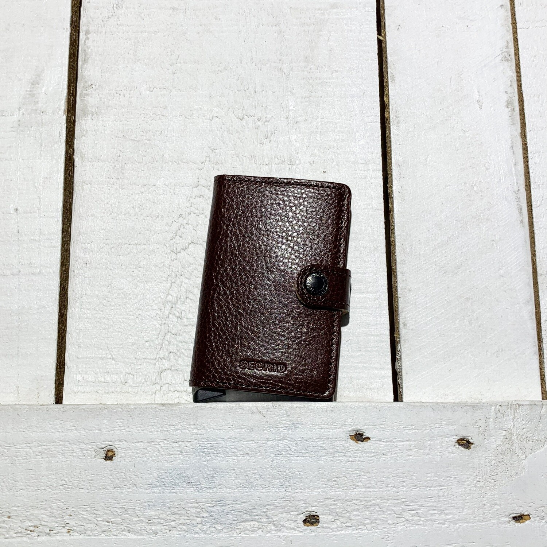 SECRID –  Miniwallet Veg Espresso Brown