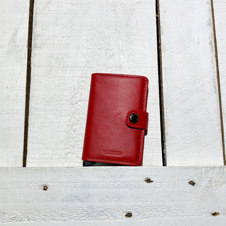 SECRID –  Miniwallet Original Red